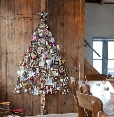 Creative Ideas for Space-Saving Christmas Trees for your Home | Creative Homestyle | Scoop.it