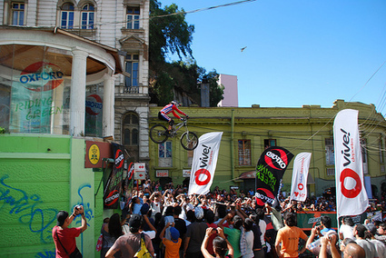 Extreme bike race brings business and tourism boom to Valparaíso | World Travel News | Scoop.it
