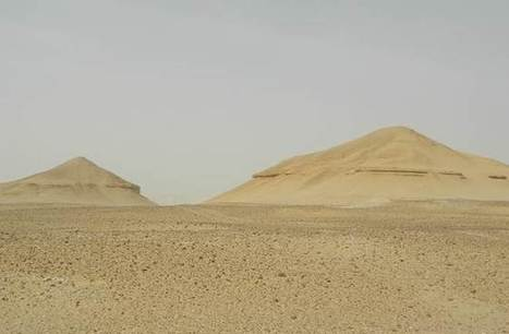 Long-lost pyramids or just natural formations? Answer buried in Egypt   Skylarkers   Scoop.it