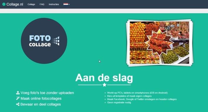 Edu-Curator: Op Collage.nl maak je gratis en zonder account leuke fotocollages van school- en/of groepsactiviteiten | Educatief Internet - Gespot op 't Web | Scoop.it