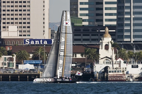 How to follow the AC World Series - San Diego | America's Cup-2013_AC34 | Scoop.it