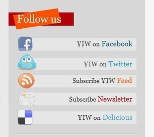 Plugin WordPress Follow Us: i Social Network sulla sidebar | Conoscere Wordpress | Scoop.it