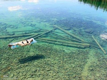 Because of the crystal-clear water, Flathead Lake in Montana seems shallow, but in reality is 370 feet in depth. | GMOs & FOOD, WATER & SOIL MATTERS | Scoop.it