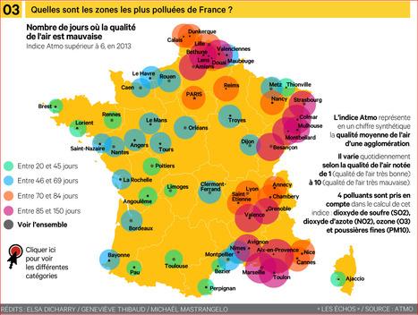 INFOGRAPHIE : Quelles sont les zones les plus polluées de France ? | Lorraine | Scoop.it