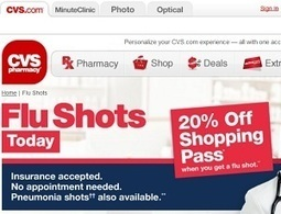 CVS pharmacies caught lying about risks of high-dose flu vaccines ... | vacination | Scoop.it