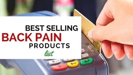 Back Pain Relief Products Bestseller List | Natural Alternative Therapies | Scoop.it
