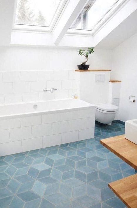 Azulejos geométricos hexagonales. Una tendencia llena de posibilidades. | Mil Ideas de Decoración | Decoración de interiores | Scoop.it