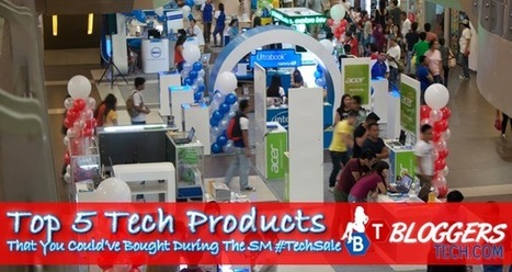 Top 5 Tech Products That You Could've Bought During The SM #TechSale | Bloggers Tech | Scoop.it