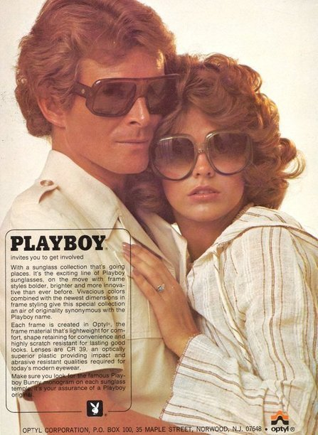 Vintage Playboy eyewear | 20th century antiques and collectables | Scoop.it