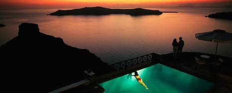 ανυπέρβλητα δειλινά σε όλο τον κόσμο ... #Santorini #Cyclades #Aegean_sea #Greece | travelling 2 Greece | Scoop.it