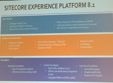 Sitecore® Experience Platform™ 8.1 | Sitecore | CXM | Customer Experience | Scoop.it