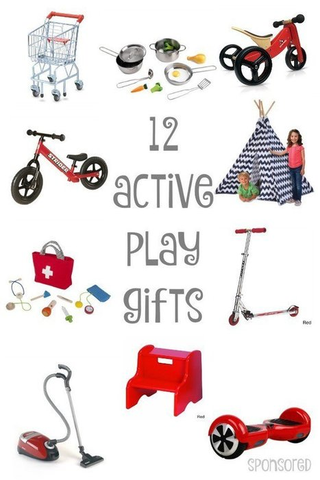12 Gifts that Will Keep Kids Actively Playing | Parents & Children, Learn & Play | Scoop.it