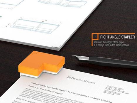 Right Angle Stapler by 42 Design - Jeong Jun Yeon, Jeon Hyeongho, Mee Ree, Jeon Youngha & Ji Eun Lee | Coaching, desarrollo y algo más | Scoop.it