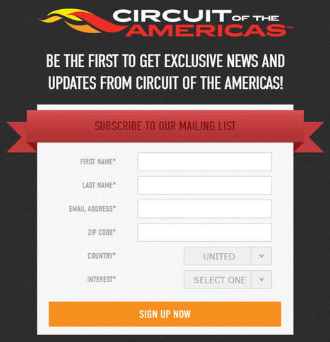 Crafting an Effective Sign-Up Form | B2B Marketing and PR | Scoop.it