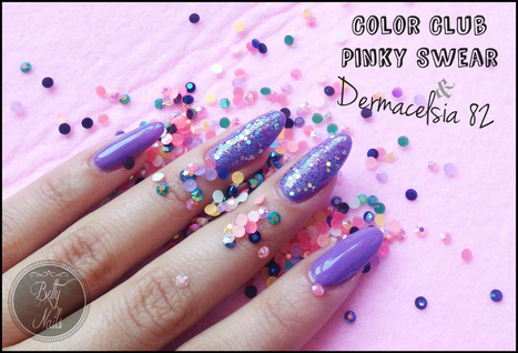Betty Nails: Dermacelsia 82 Spring 2014 Collec & Color Club Pinky Swear | Betty Nails | Scoop.it