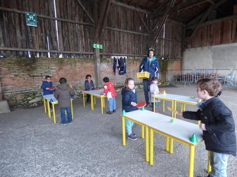 Langon Initiation au mini tennis de table pour les écoliers | ping pong 44 | Scoop.it