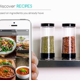 Neo Smart Jar, le bocal connecté pour conserver et suivre la consommation des aliments - Web des Objets   Hightech, domotique, robotique et objets connectés sur le Net   Scoop.it