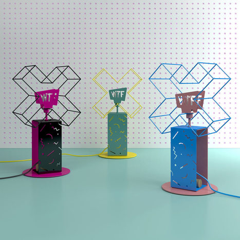 Graphic WTF Lamps by Sergey Lvov - Design Milk | CLOVER ENTERPRISES ''THE ENTERTAINMENT OF CHOICE'' | Scoop.it