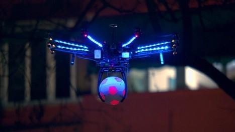 Pepsi, drone et lumière : deux vidéo interactives - Light ZOOM Lumière | Laboratoire arts & technologies | Scoop.it
