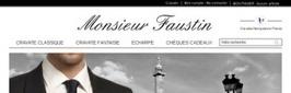 Toutes vos cravates chez Monsieur Faustin | Actualités Monsieurfaustin | Scoop.it