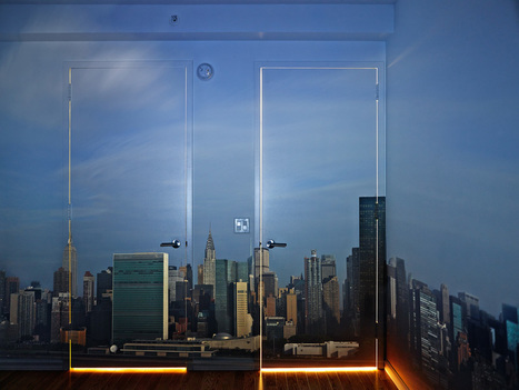Abelardo Morell, Camera Obscura: Early Morning View of the East Side of Midtown Manhattan, 2014 | FlakPhoto.com | On photography and photographers | Scoop.it