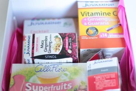 La box Tonus & Energie Juvamine (cadeau) - La Fille de l'Encre | Blog, humeurs, tendances | Scoop.it