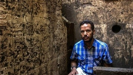 A new Ancient Egyptian discovery at Abydos - DigiNews | Egyptology | Scoop.it