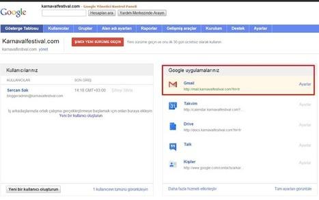 Blogger için Domain Uzantılı E-Mail Almak ( Google Apps ) - Blogger Dersleri | Blogger Dersleri ve Blogger Eklentileri | Scoop.it