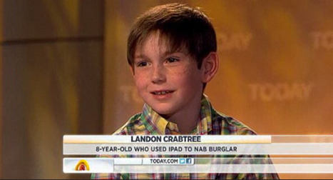 Tech-Savvy 8-Year-Old Tracks Down Burglar With Find My iPhone App | Winning The Internet | Scoop.it