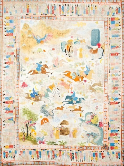 Kour Pour | A Young British Artist Who Specializes in Carpet Paintings | Arabian Peninsula | Scoop.it