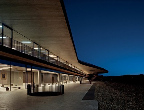 Cantina Antinori Winery / Archea Associati   Designalmic   Designalmic   Scoop.it