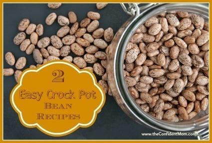 Simple Crock Pot Refried Beans and Black Beans Recipe | 4-Hour Body Bean Cookbook | Scoop.it