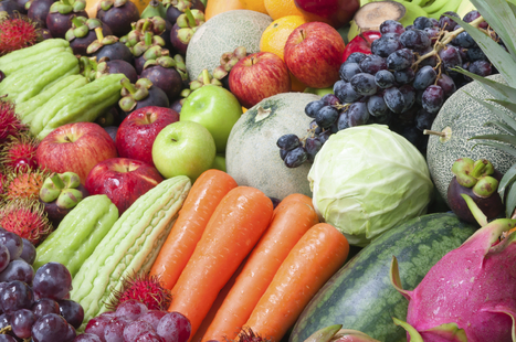 Eat Rainbow Diet to Fight Cancer - Plenty Well | healthy living | Scoop.it
