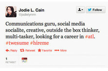 The New Résumé: It's 140 Characters | Social Media for Workforce Development | Scoop.it