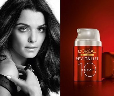 Rachel Weisz advert banned after L'Oreal admits to airbrushing | Brand Marketing & Branding | Scoop.it