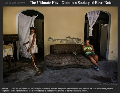 A Photographer, A Fixer, the New York Times and Child Servitude in Haiti: A Story Gone Haywire, then Simply Gone | Restavek | Scoop.it