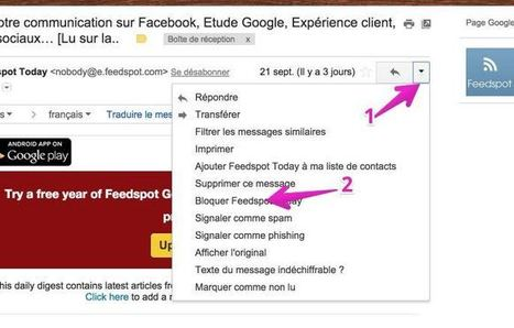 Gmail permet maintenant de bloquer des contacts - Les Outils Google | Les outils du Web 2.0 | Scoop.it