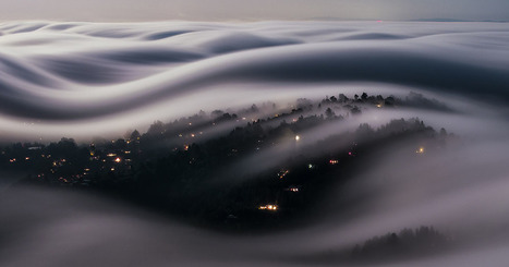 A Long Exposure of Fog Rolling Over California Under a Full Moon | Photography Stuff For You | Scoop.it
