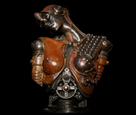 Copper sculptures - From Inspiring gallery of  Artist Pierre Matter   Contemplación   Scoop.it