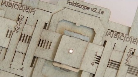 Un microscope ultra-low-cost en papier pour vaincre le palu | Je, tu, il... nous ! | Scoop.it