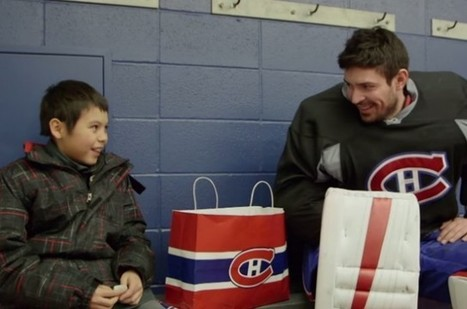 Carey Price touched by gesture of boy from his hometown in heartwarming video | The Hockey News | AboriginalLinks LiensAutochtones | Scoop.it