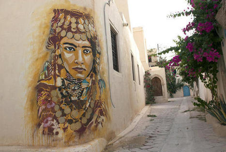 Watch 150 Street Artists Revamp a Tiny Tunisian Village | Share Some Love Today | Scoop.it