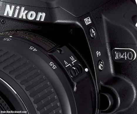 Nikon D40 User's Guide | Nikon d40 | Scoop.it