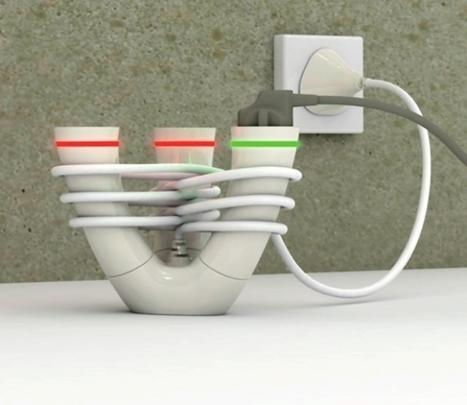 La regleta que mantiene el cable en orden | tecno4 | Scoop.it