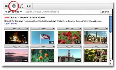 YouTube and Creative Commons: raising the bar on user creativity | technologies | Scoop.it