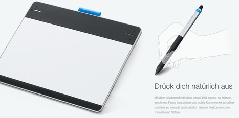 Wacom Intuos S Pen&Touch | OneNote | Scoop.it