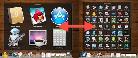 Change Stacks Icon Size in Grid View   osx lion   Scoop.it