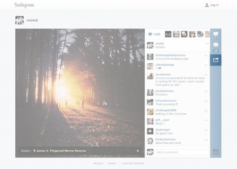 La fonction EMBED déployée sur Instagram - | Community and Social Media Management | Scoop.it