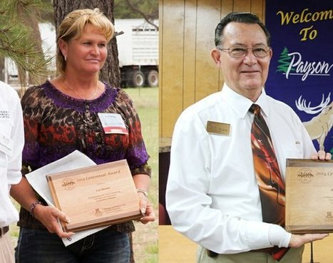 Two local residents receive Centennial award | Payson (AZ) Roundup | CALS in the News | Scoop.it