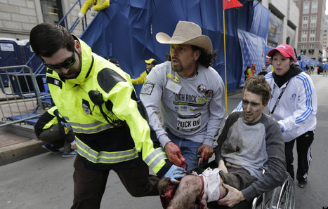 LOOK: Man From Iconic Boston Marathon Photo Walks | Summertime Newsroom | Scoop.it